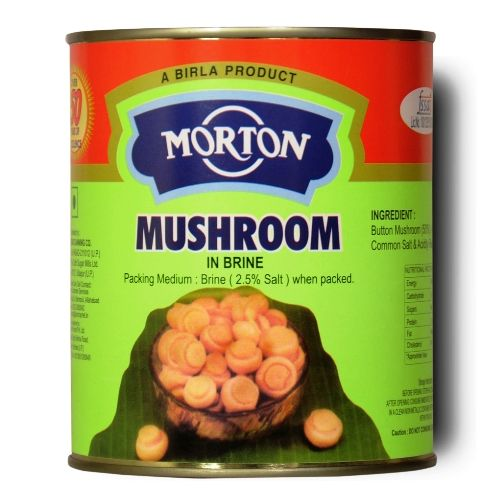 MORTON-MUSHROOM IN BRINE TIN 800 GM