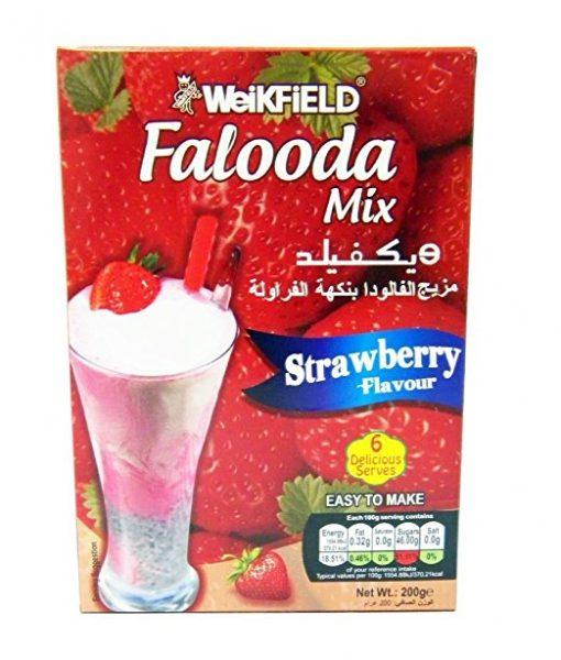 WEIKFIELD STRAWBERRY FALOODA MIX 200 GM