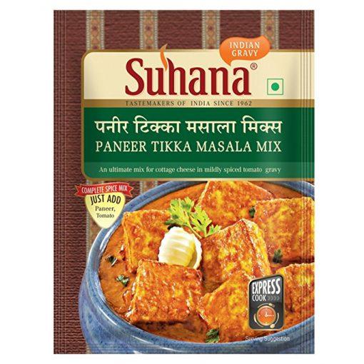 Suhana Paneer Tikka Spice Mix 50g Pouch