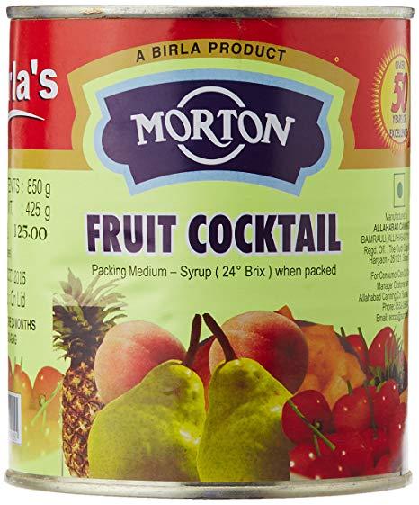 MORTON FRUIT COCKTAIL MIX 850 GM