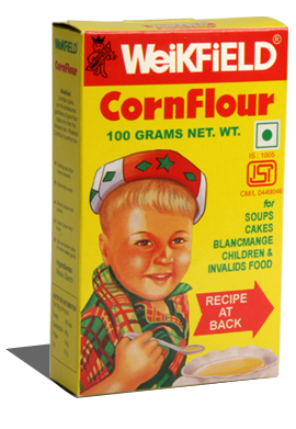 WEIKFIELD-CORN FLOUR-500 GM