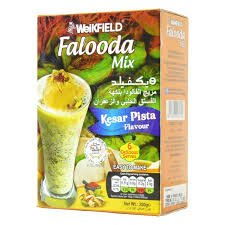 WEIKFIELD KESAR PISTA FALOODA MIX 200 GM