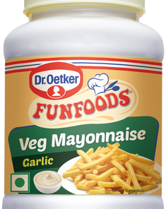 FUNFOOD Garlic Veg Mayo 275gm